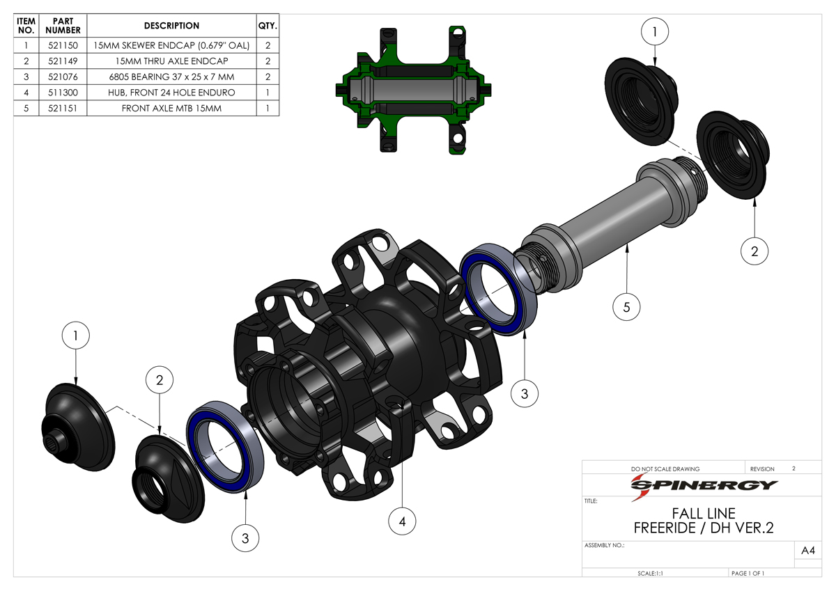 Fall Line Free Ride Dh Front Spinergy Car Axle Diagram Frontveiwaxlediagram Prev Next