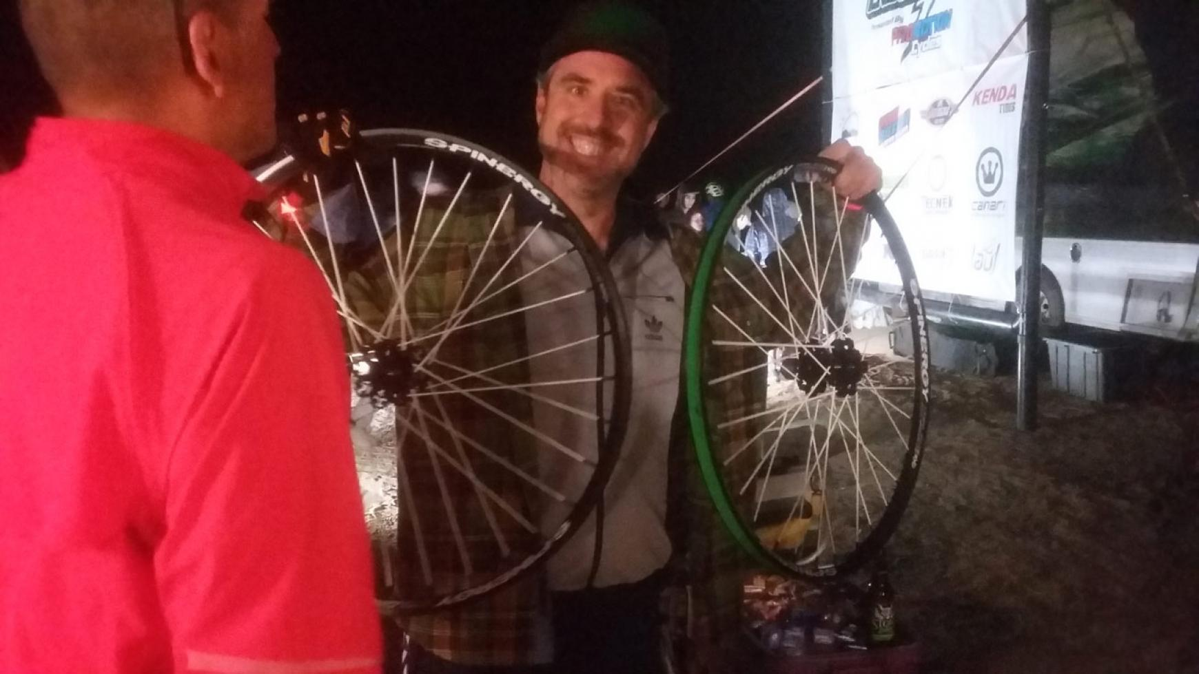 Spinergy Wheel Raffle Winner